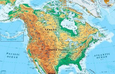 Interesting facts about north america for Interesting facts north america